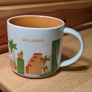 Starbucks you are here collection Orlando 2015 mug